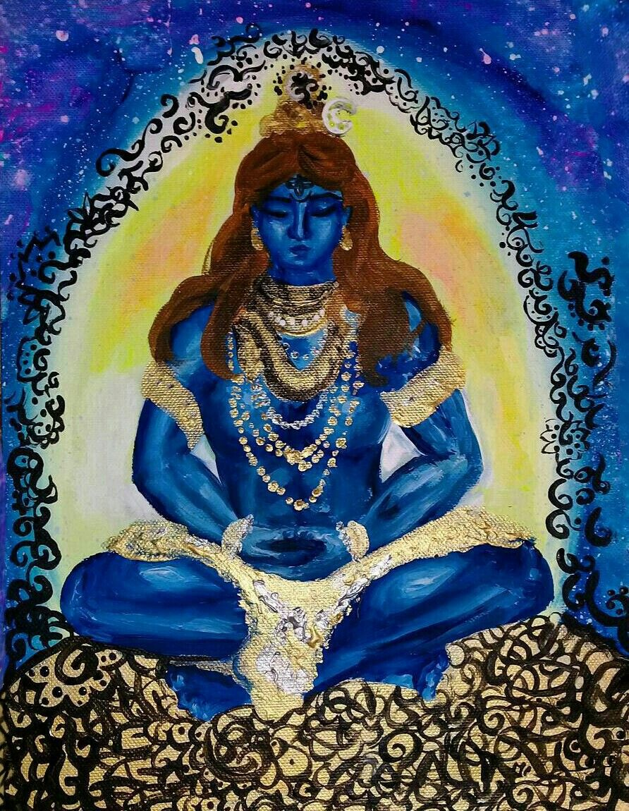 Lord Shiva As Yogi Hindu Pinterest Lord Shiva Shiva Art And