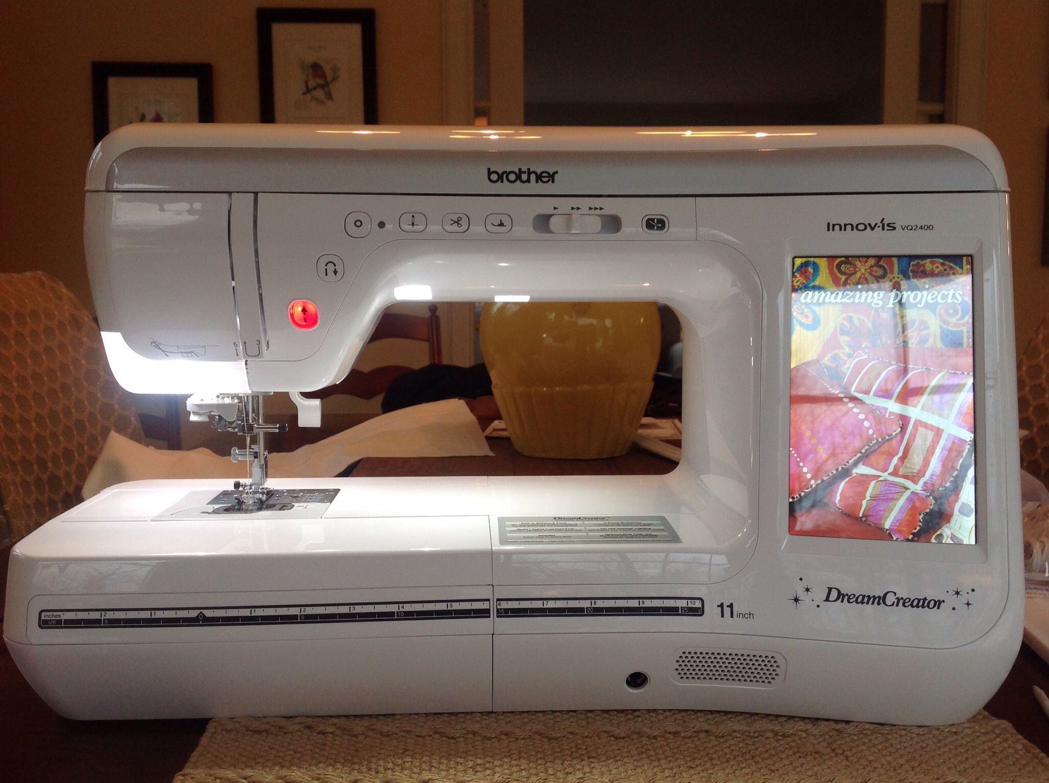 My new Brother VQ 2400! | Sewing machines | Pinterest