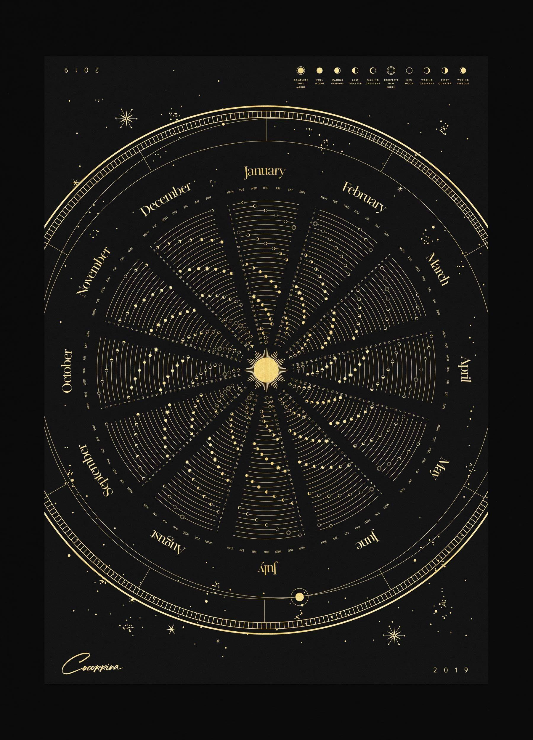 astronomy magazine calendar - HD1080×1350
