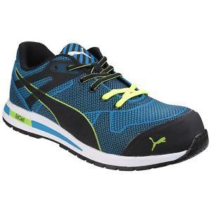 sports shoes 00a22 7bb6e a puma seguridad hombre blaze knit bajo zapatillas cordones zapato de  seguridad