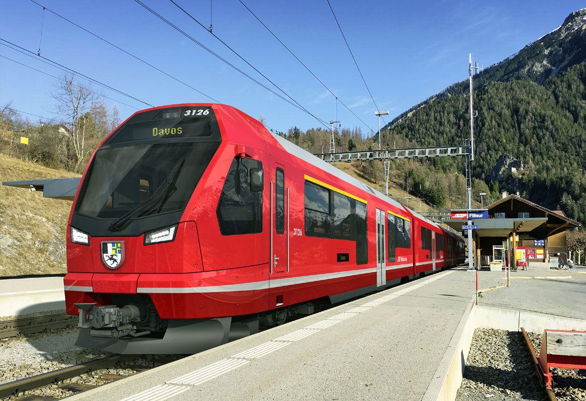 Generalversammlung der Rhätischen Bahn in Pontresina