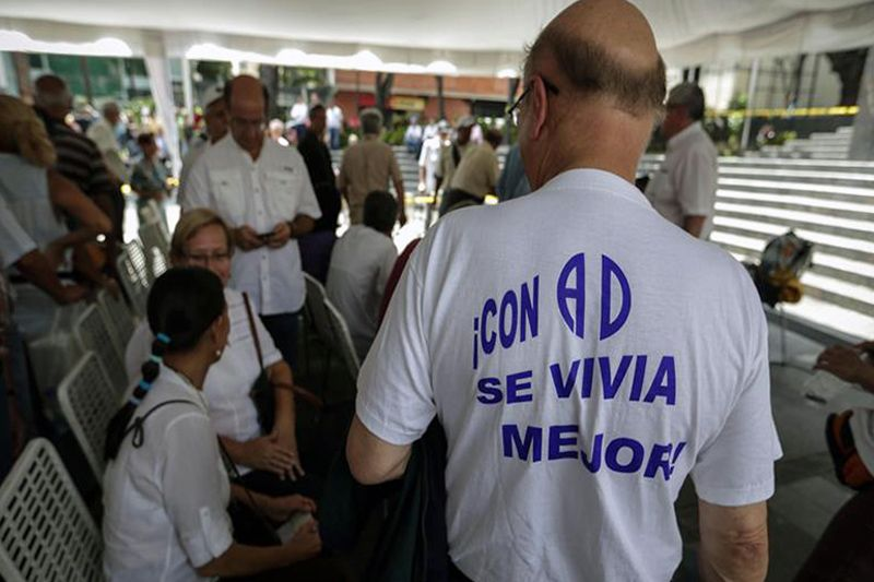 ¡SORPRESA! AD con casi 200 mil validaciones se convierte en la primera fuerza opositora del país - http://wp.me/p7GFvM-EIF