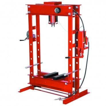 20 ton H-Frame Industrial Heavy Duty Floor Shop Press Industrial - fabrication presse hydraulique maison