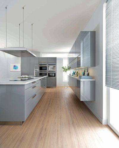 Cuisines schmidt cuisines ouvertes et modernes maisons pinterest - Architecture moderne residentielle schmidt lepper ...