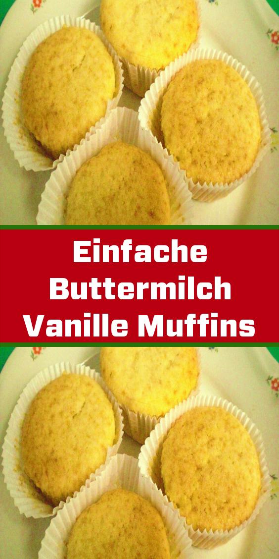 einfache buttermilch vanille muffins und 87 000 weitere