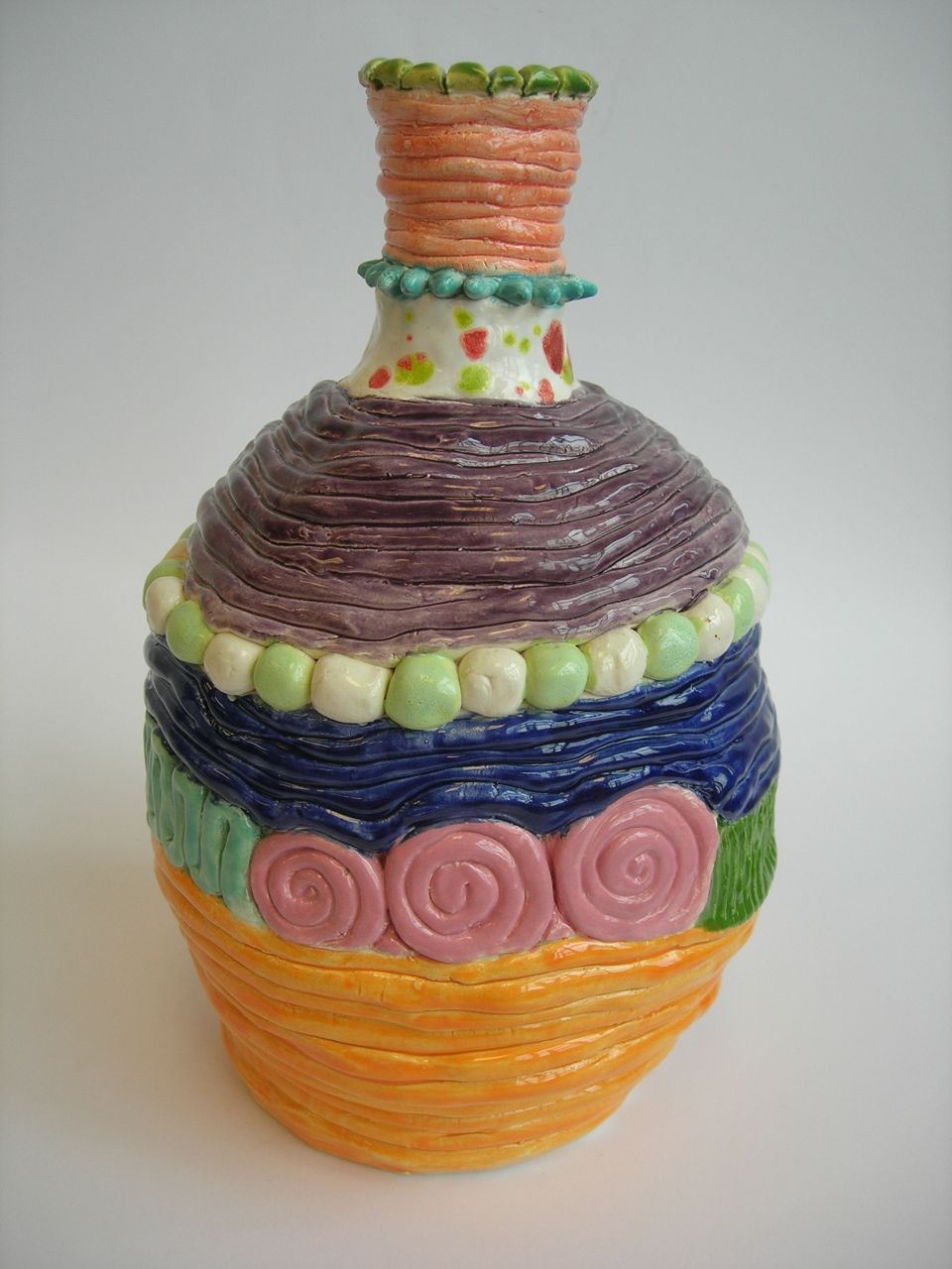 This site has great ideas for clay | Coil pots, Coil ...