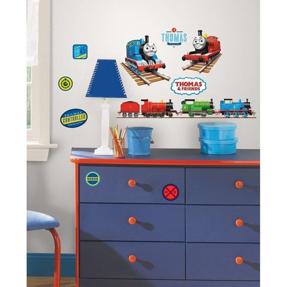 33 Thomas the Tank Engine Wall Decals by jenuinecraftsandmore