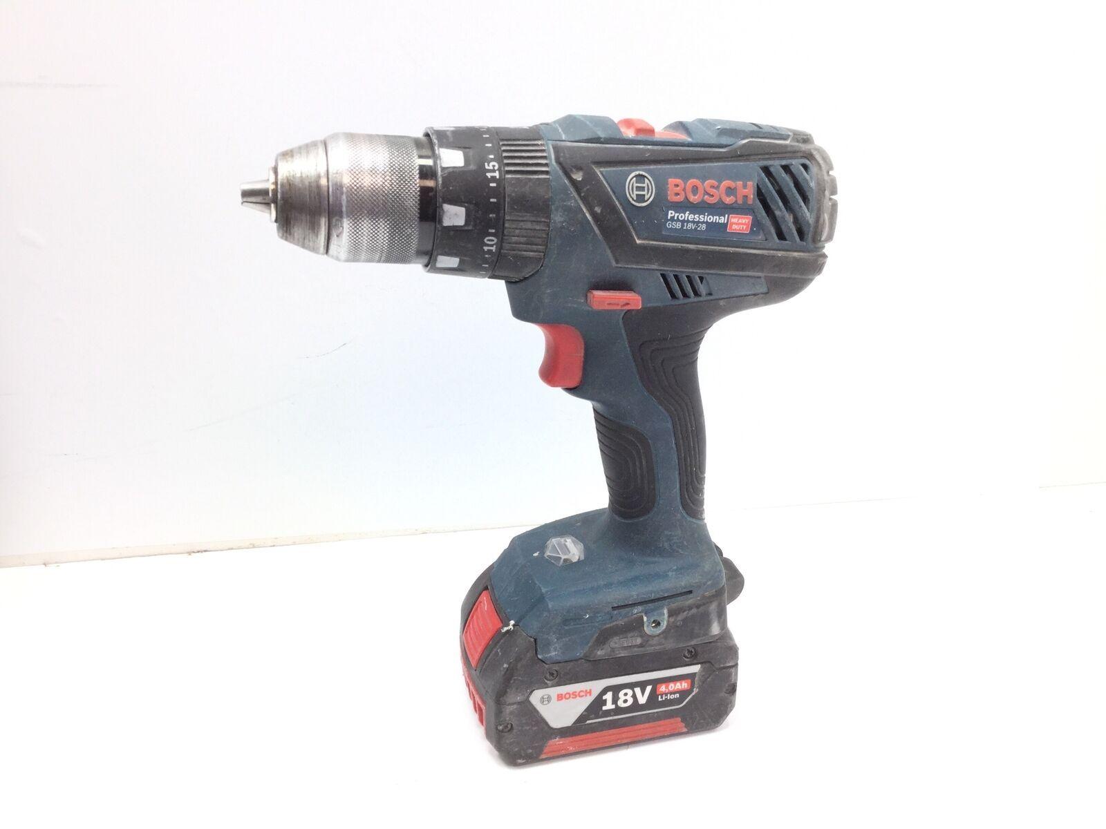 Taladro A Bateria Bosch Azul Gsb 18v 28 5607189 106 50 Taladro