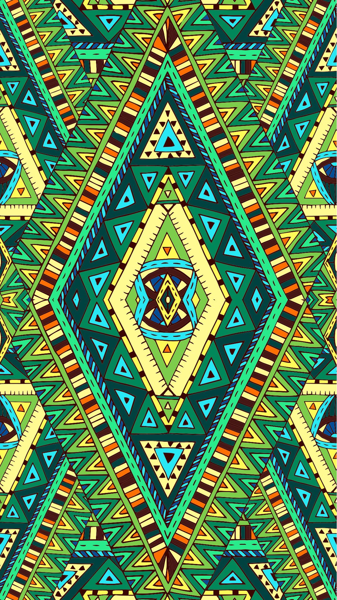 Ethnic iphone wallpaper - Etnik Desen Sevenler I In Renkli Wallpaperlar Ethnic Etnik Green Wallpaper