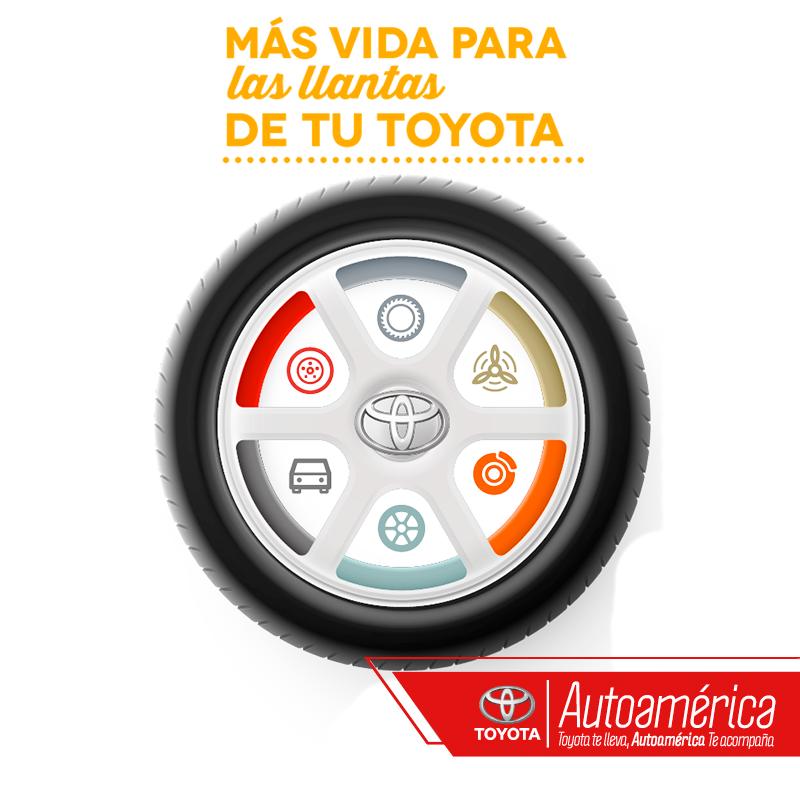 Un experto nos regala cinco consejos para darle más vida a las llantas #Toyota. En #Autoamérica nuestros expertos te entregan toda la información que necesitas al respecto. Descubre más en http://goo.gl/L7lWAI