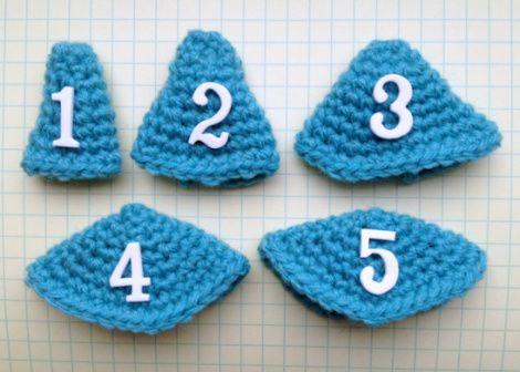 Amigurumi Tips : Crochet tech tips on shaping amigurumi cones of various shapes
