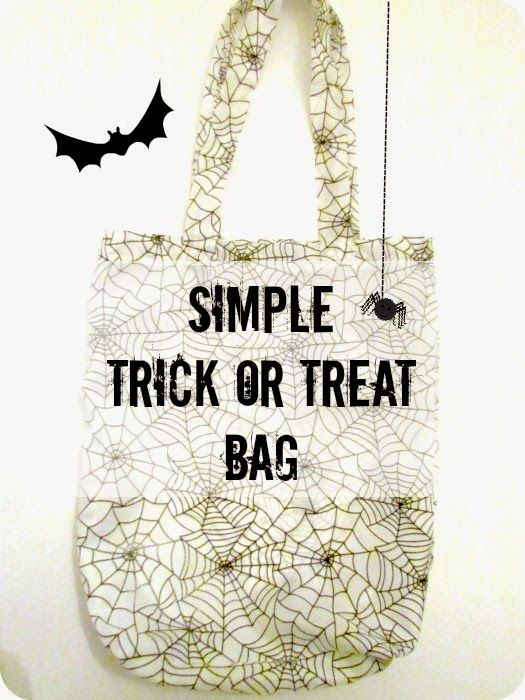 Easy to Make Trick or Treat Bag | Halloween ideas | Pinterest