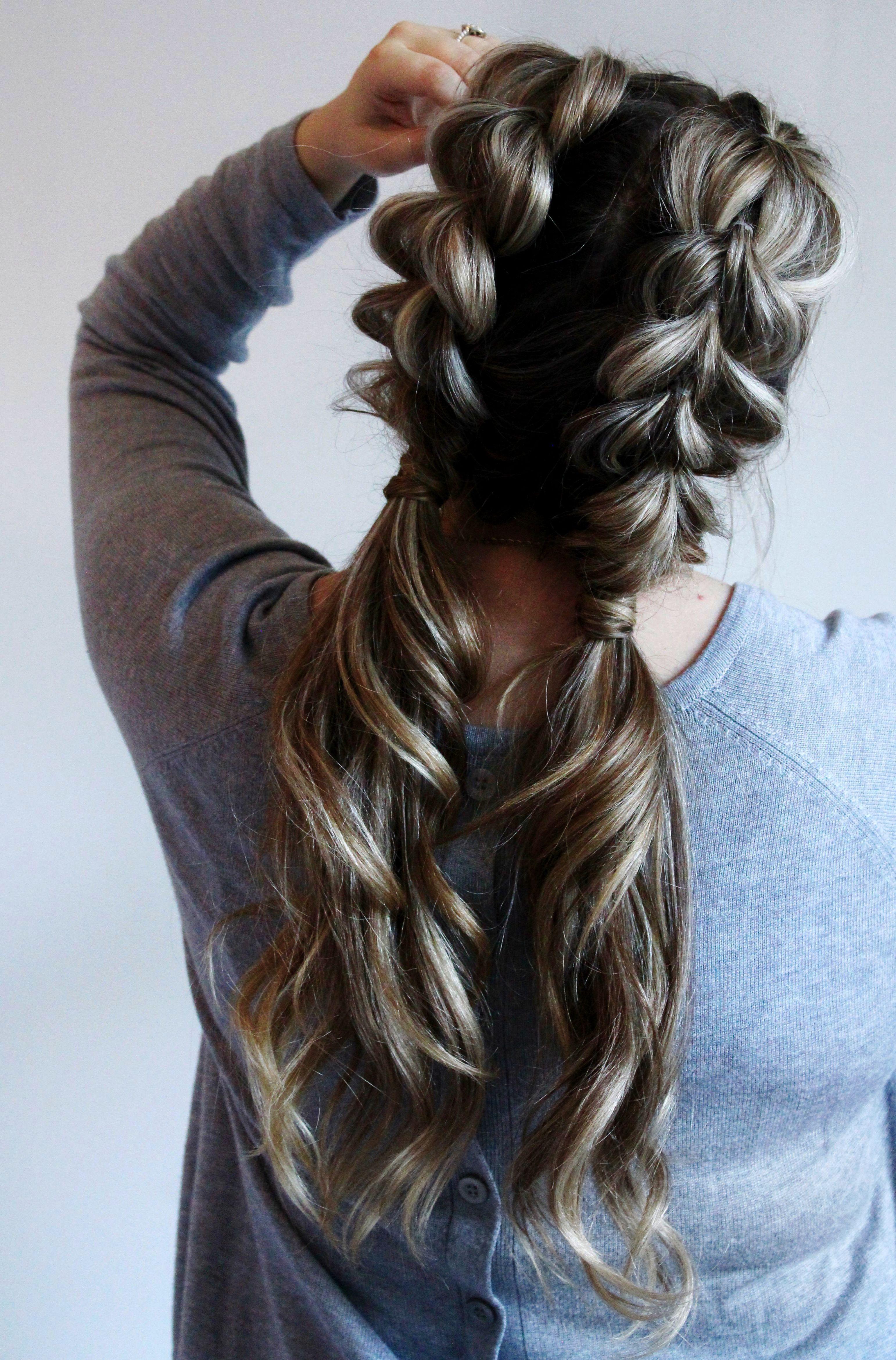 Merrylight Fashion Women Girls Hair Braids Braided Hair