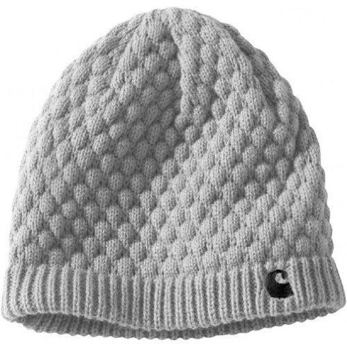 Carhartt Women's Embroidered 'C' Knit Hat Heather Grey #Carhartt #Beenie