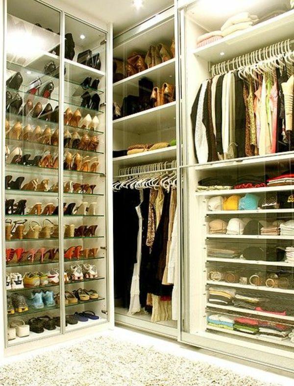 Luxus begehbarer Kleiderschrank \u2013 120 Modelle! Ankleidezimmer - der begehbare kleiderschrank ein traum vieler frauen