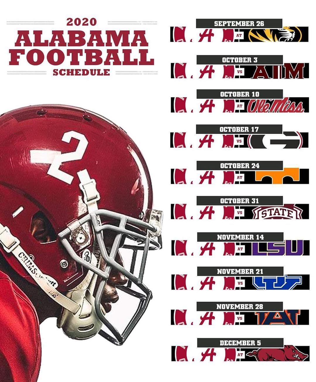 Pin By Bill Phillips On Alabama Crimson Tide In 2020 Alabama Crimson Tide Football Alabama Crimson Tide Football Wallpaper Alabama Football Schedule