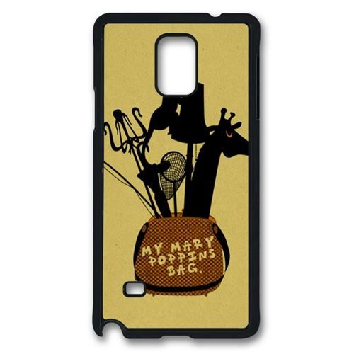 Marry Poppins Case for Samsung Galaxy Note 4 PC Material Black, $12.99