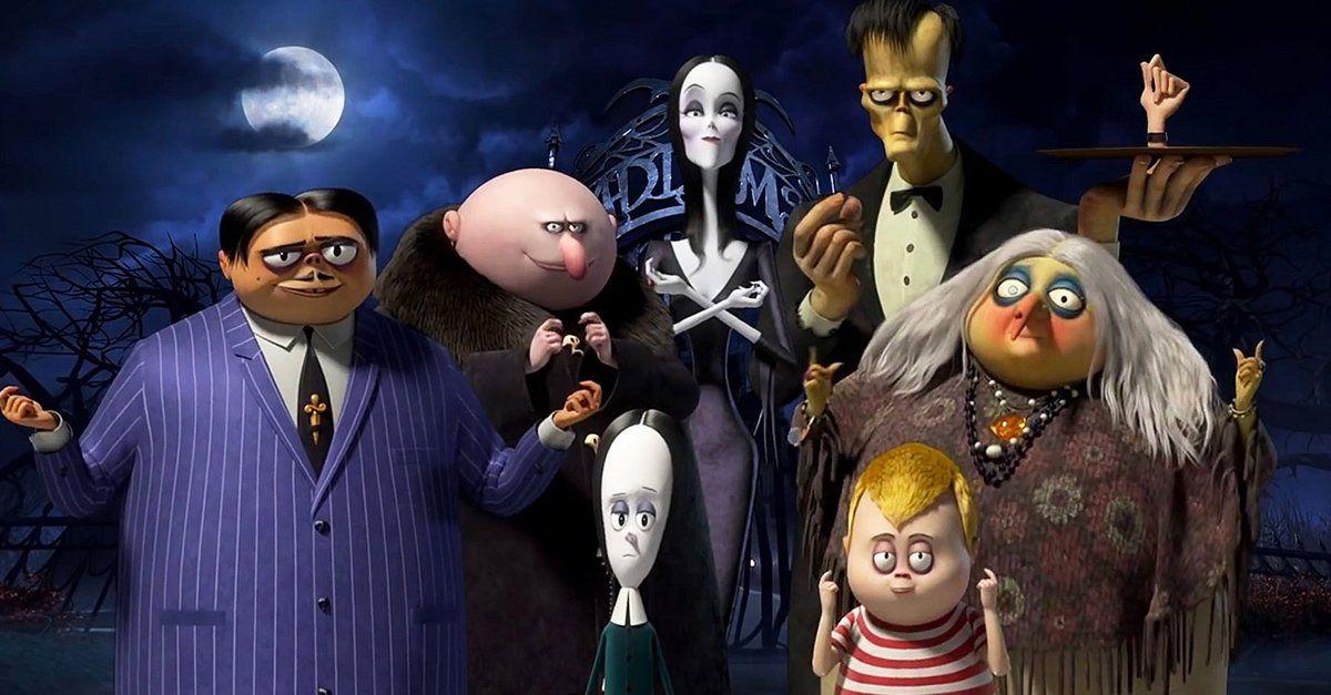 Ya Esta Aqui El Nuevo Trailer De La Familia Addams En Version Animada La Familia Addams Peliculas Familiares Historia De La Familia