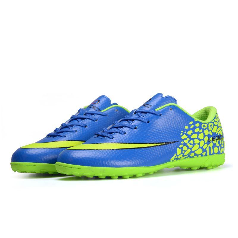 c5f41b634 Leoci Brand Men Boys Kids Soccer Cleats Turf Football Soccer Shoes Indoor  Futsal Shoes chaussure foot