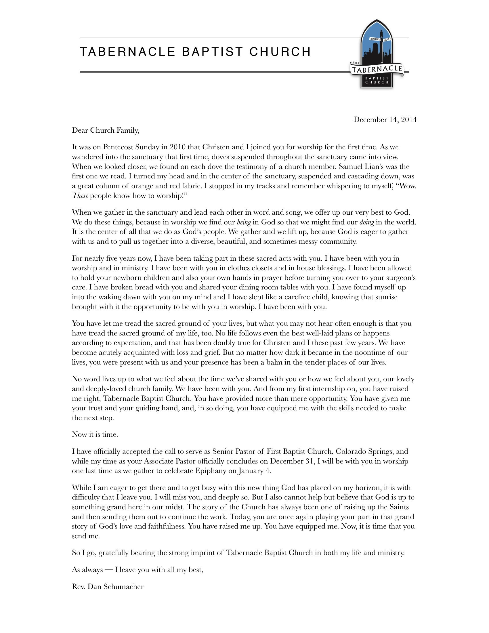 Pastor letter resignation resume layout create home design idea pastor letter resignation resume layout create aljukfo Images