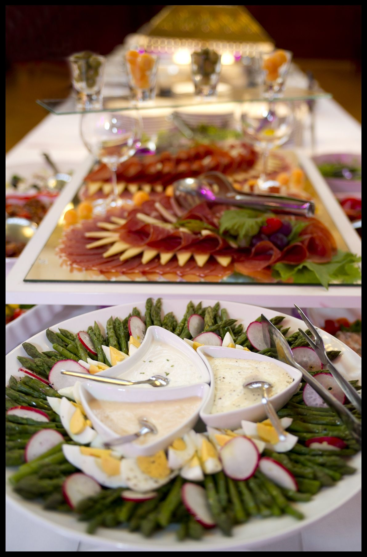 Catering Tim Lisak For Croatian Telekom Yummy Sides Catering Delicious