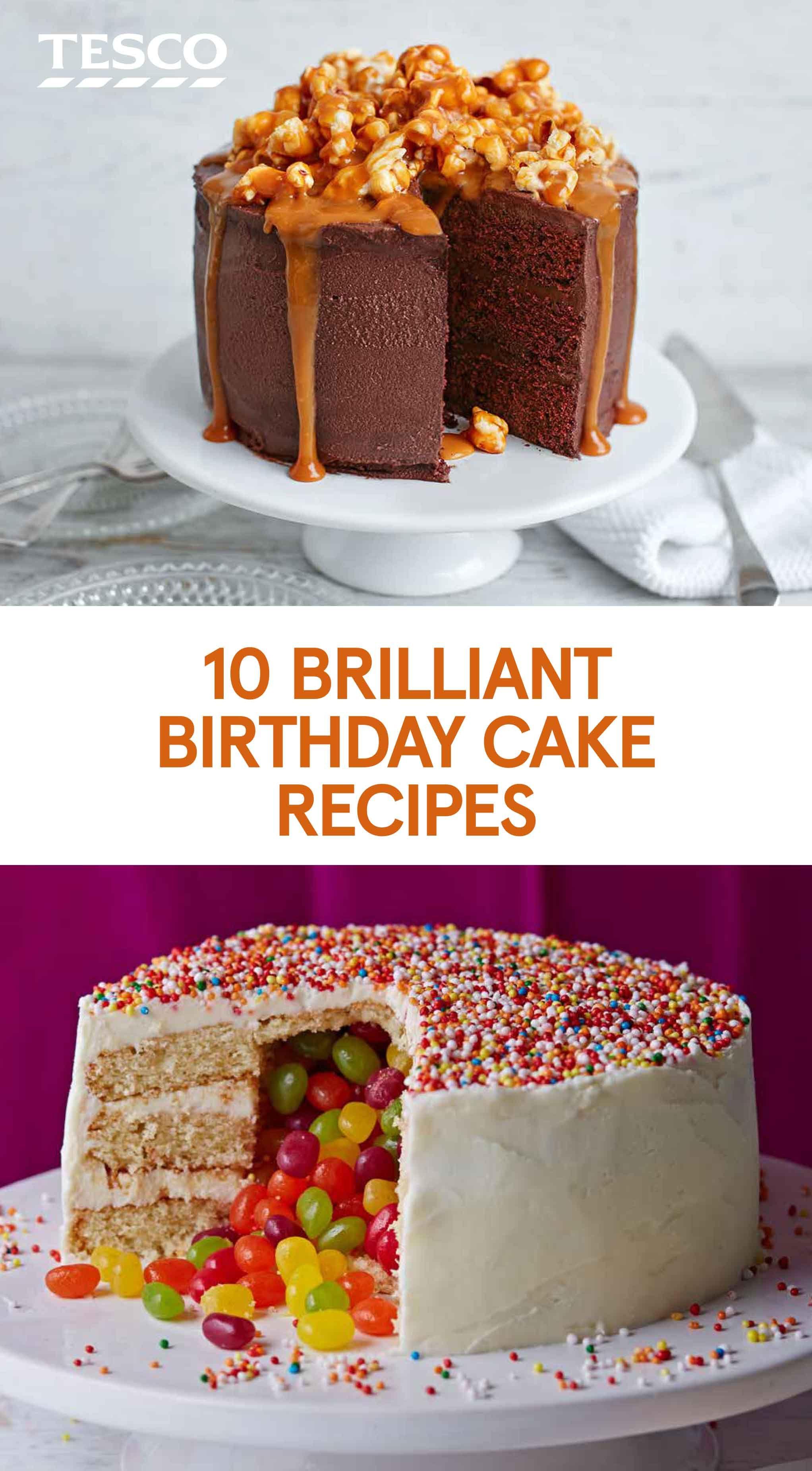 10 Brilliant Birthday Cake Recipes