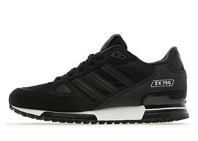 info for 25382 cf549 Adidas ZX 750 Black  Dark Shale Trainers
