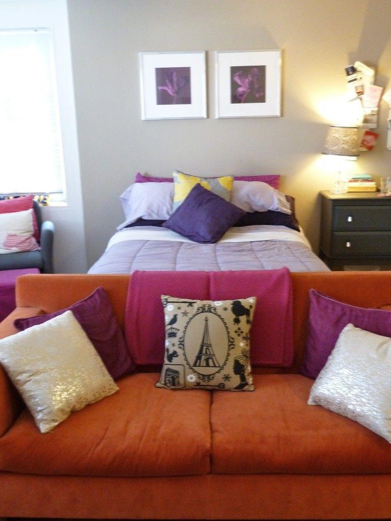 Adorable studio apartment home more pinterest for Diseno de interiores para apartamentos pequenos