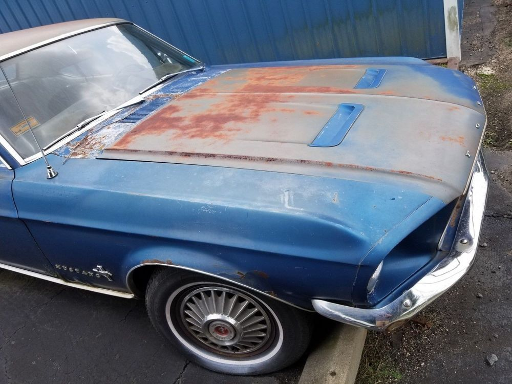Ebay 1967 Ford Mustang Coupe 6 Cylinder Parts Or Re