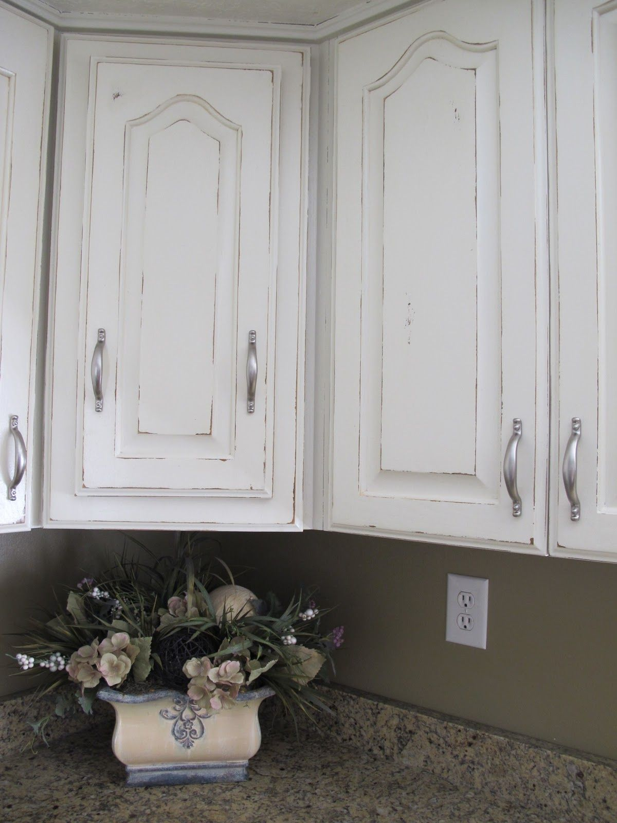 White Distressed Kitchen Cabinets Sink Mats With Drain Hole This Is What My Cupboards Are Going To Look Like