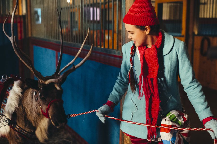"""Northpole"" is part of Hallmarks 12 new movies of Christmas. This one aires Saturday, Nov 15th. Bailee Madison plays a cute little elf!"