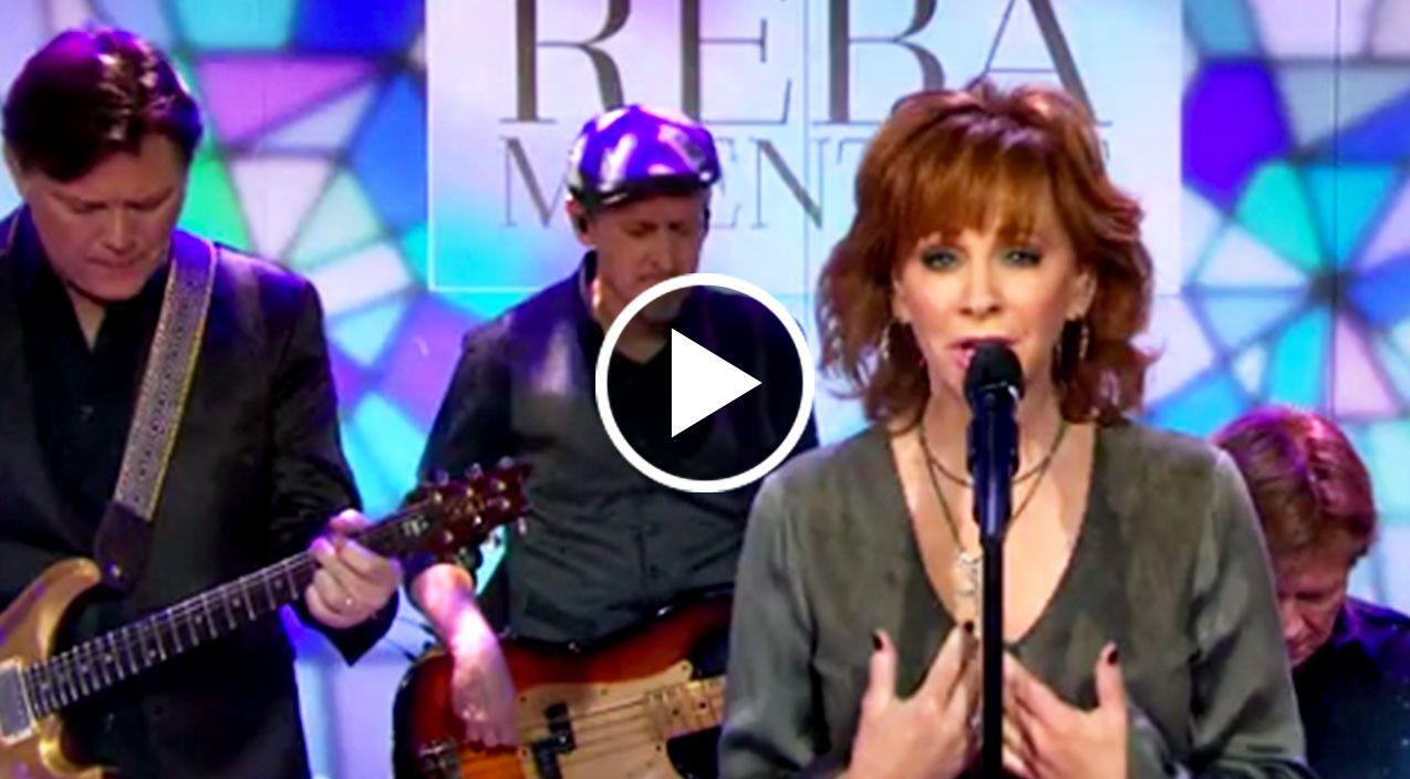 Reba herself even gets choked up and emotional when singing this incredible song...