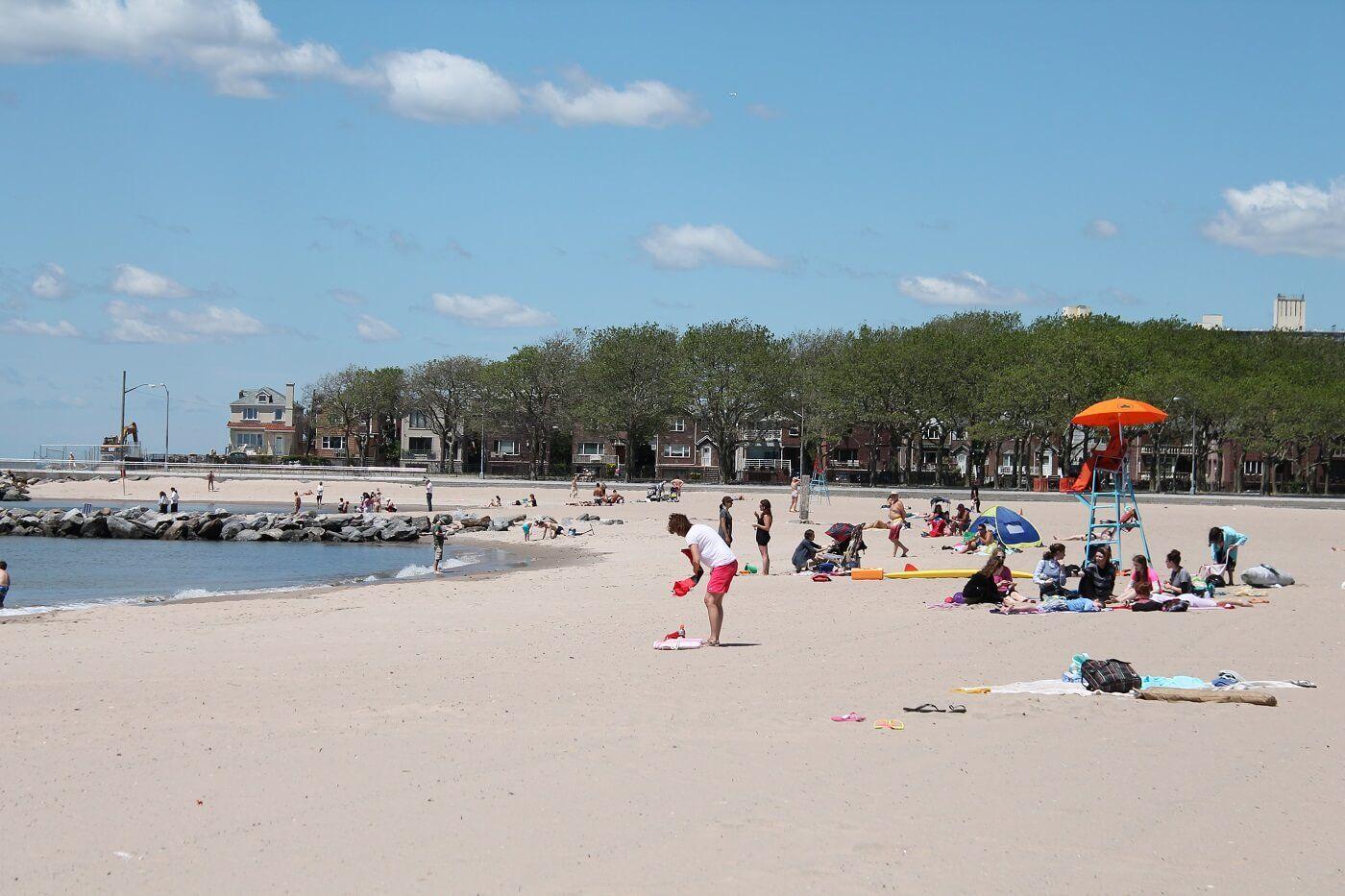 Brooklyn Beaches Manhattan Beach Nyc
