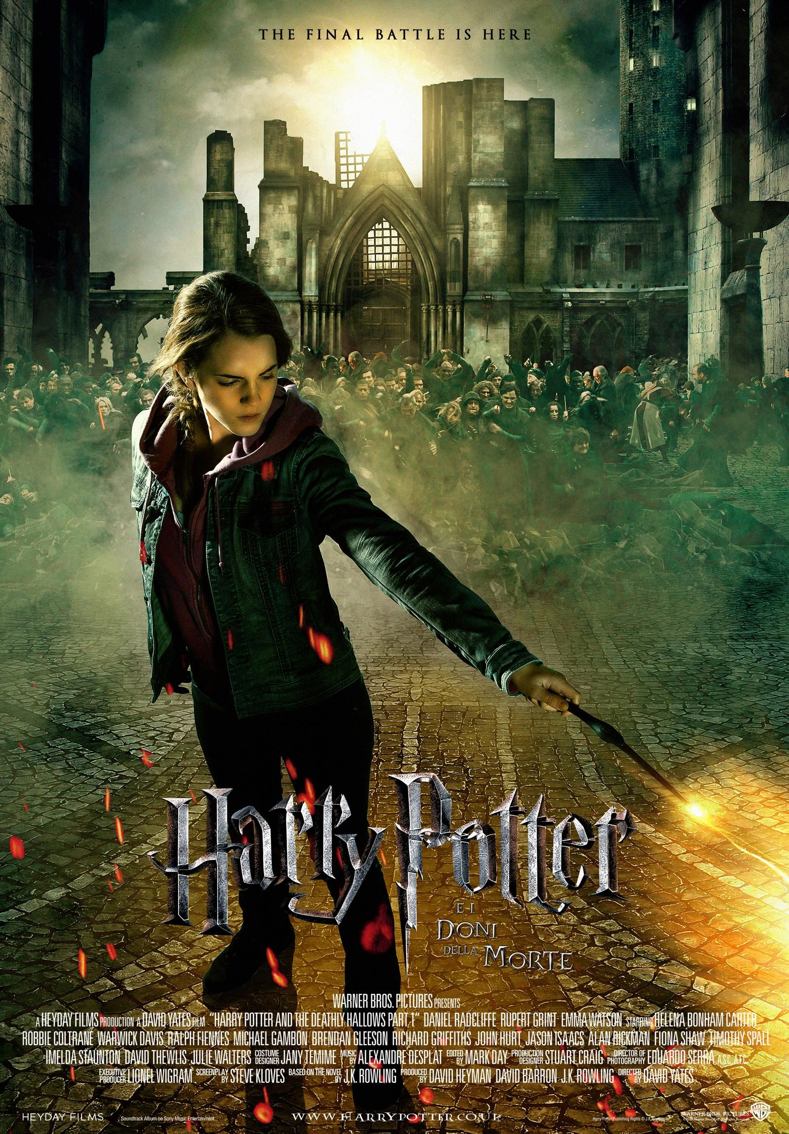 Fantasy Poster Harry Potter 7 With Hermione By Hogwartsite On Deviantart Harry Potter Ron Weasley Harry Potter Hermione Harry Potter Ron