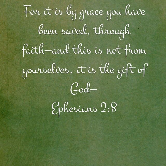 You created a verse image for <b>Ephesians 2:8</b> | The Bible App | Bible.com