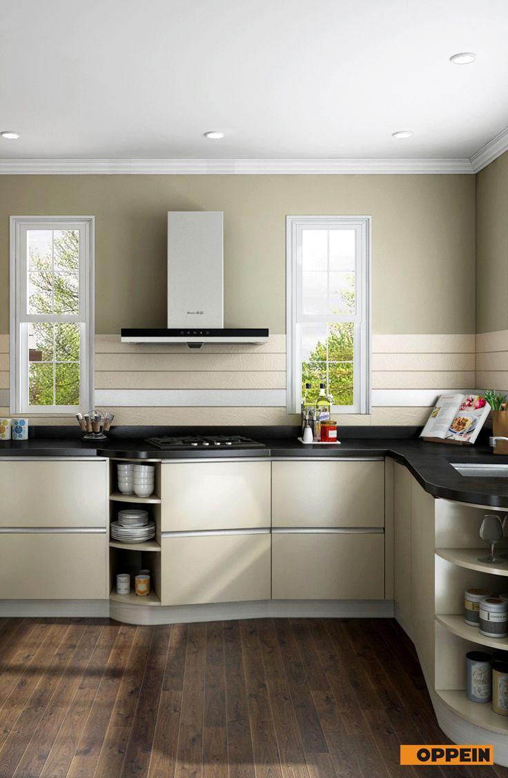 Modern Light Yellow Kitchen Cabinet Kitchen Design Kitchen