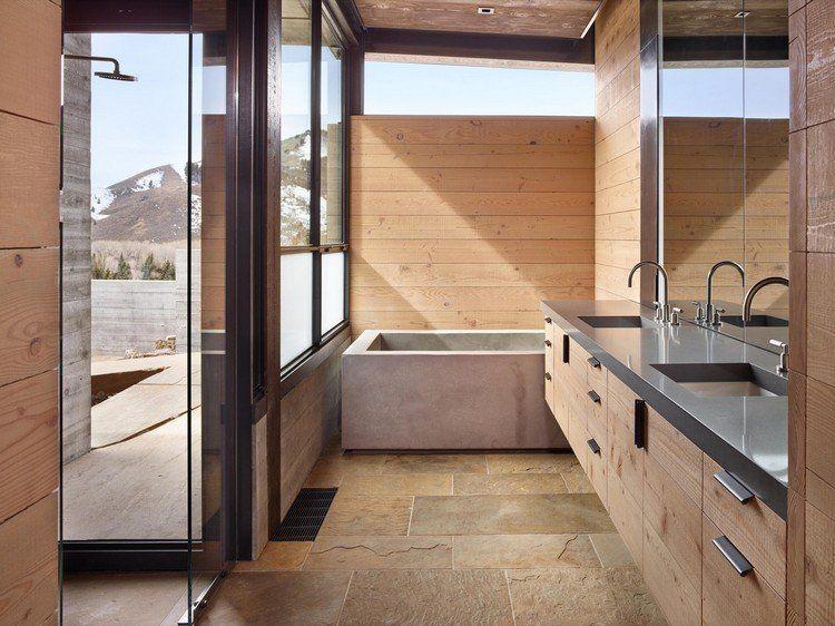 Lambris plafond bois - une rencontre exceptionnel de bois et métal ...