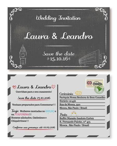 Site de casamento de Laura e Leandro
