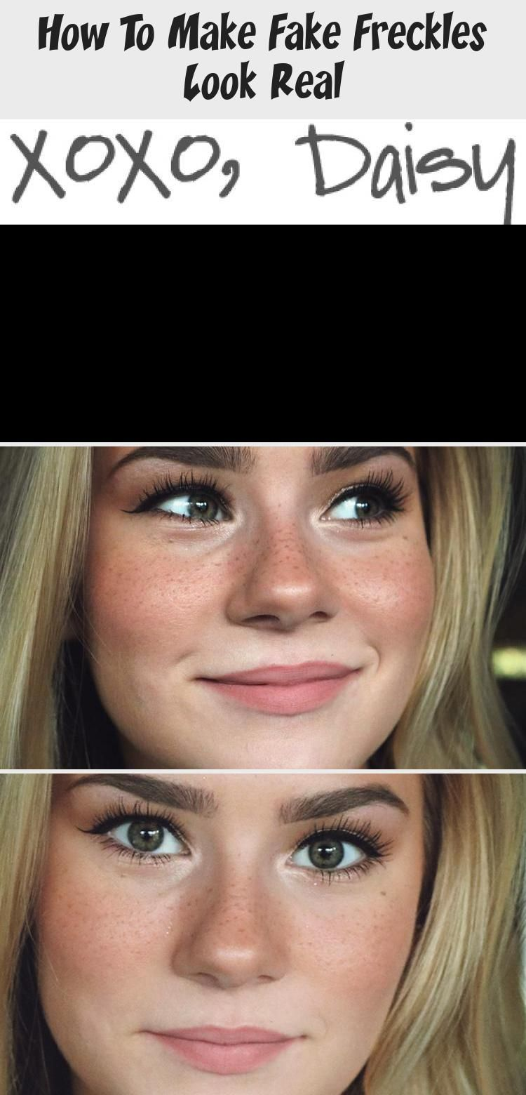 How to fake freckles like a pro