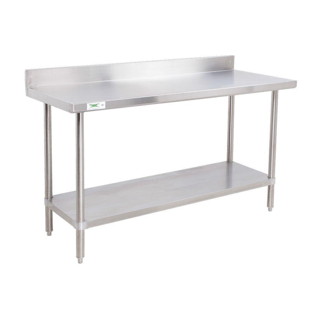 Regency 16 Gauge All Stainless Steel Commercial Work Table   30