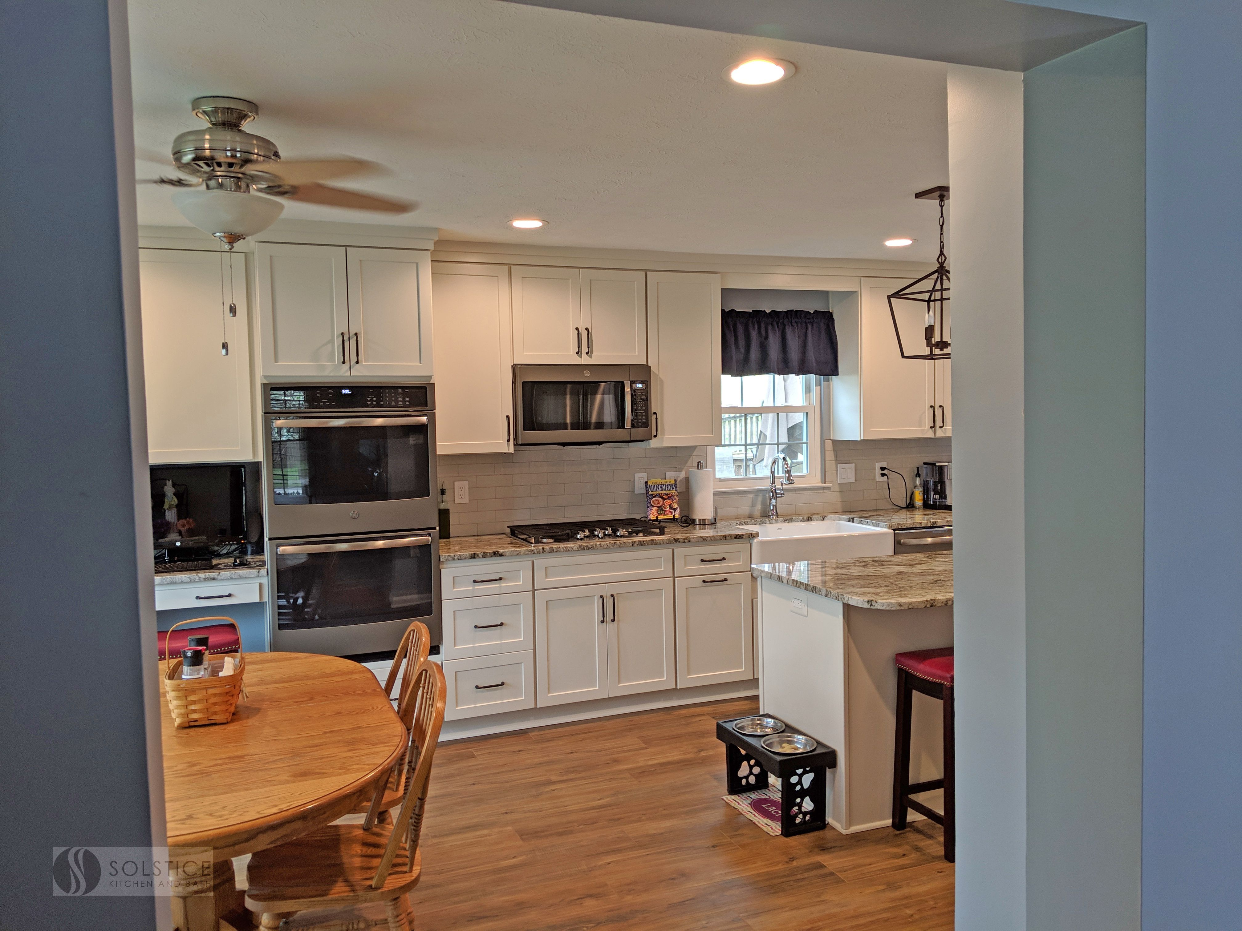 The Solstice Team Updated The Kitchen Design For This Odenton Md