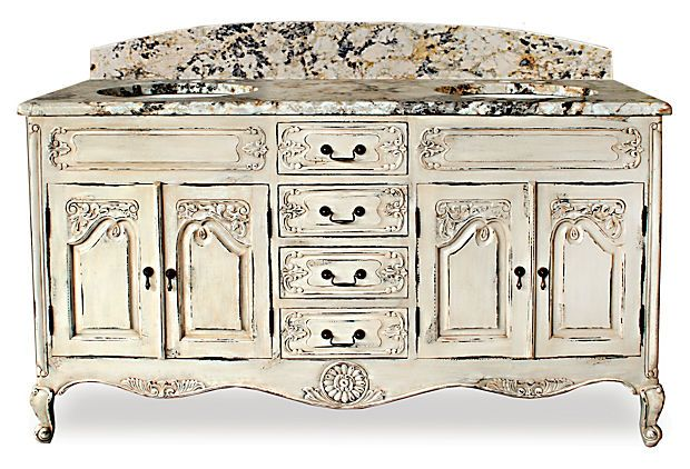Adelaide Double Granite Vanity on OneKingsLane.com