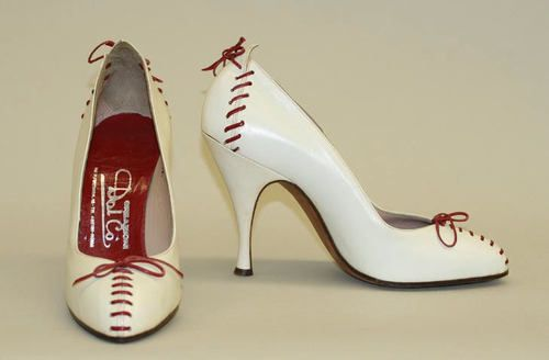 Baseball pumps by Dal Co., 1956-1957-So cool!!