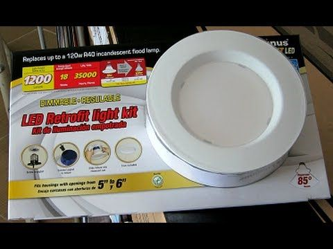 How To Install The Costco Led Retrofit Light Kit