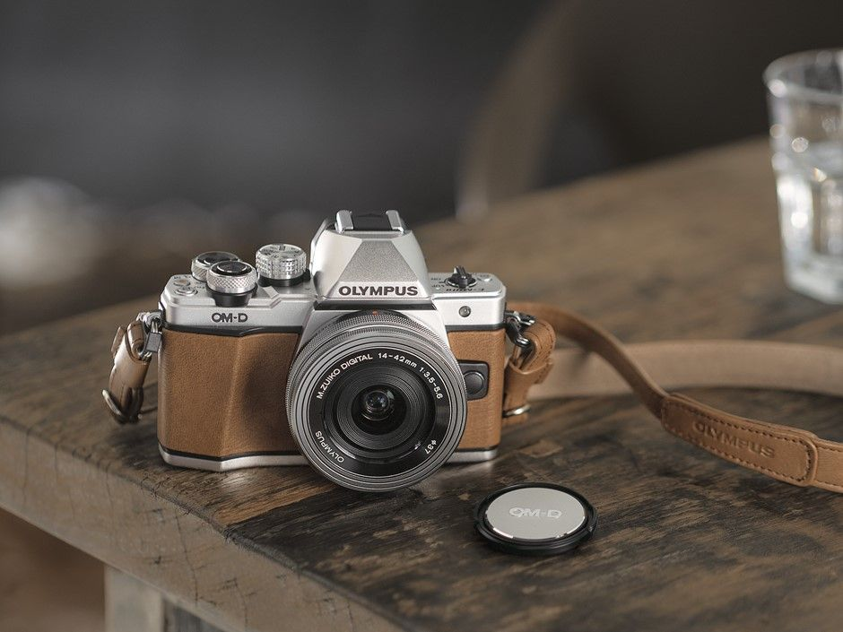A Brown And Chrome Version Of The Om D E M10 Ii Compact System Camera First Announced In January Has B Olympus Camera Photography Retro Camera Olympus Camera