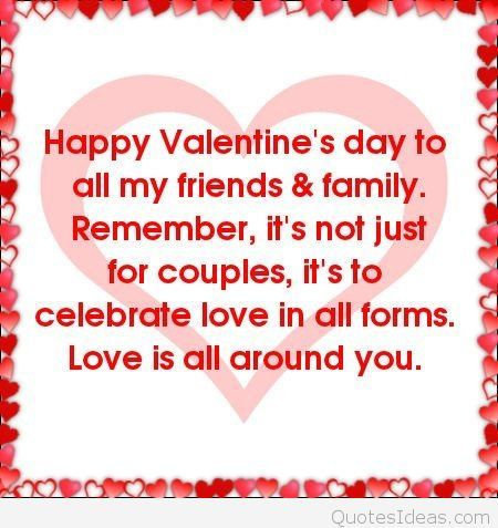 Valentine Sentiments For Friends | Valentines Sayings For Friends