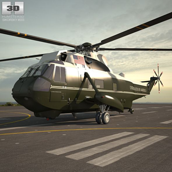 Marine One Sikorsky VH-3D Sea King #Sikorsky, #Marine, #VH ...