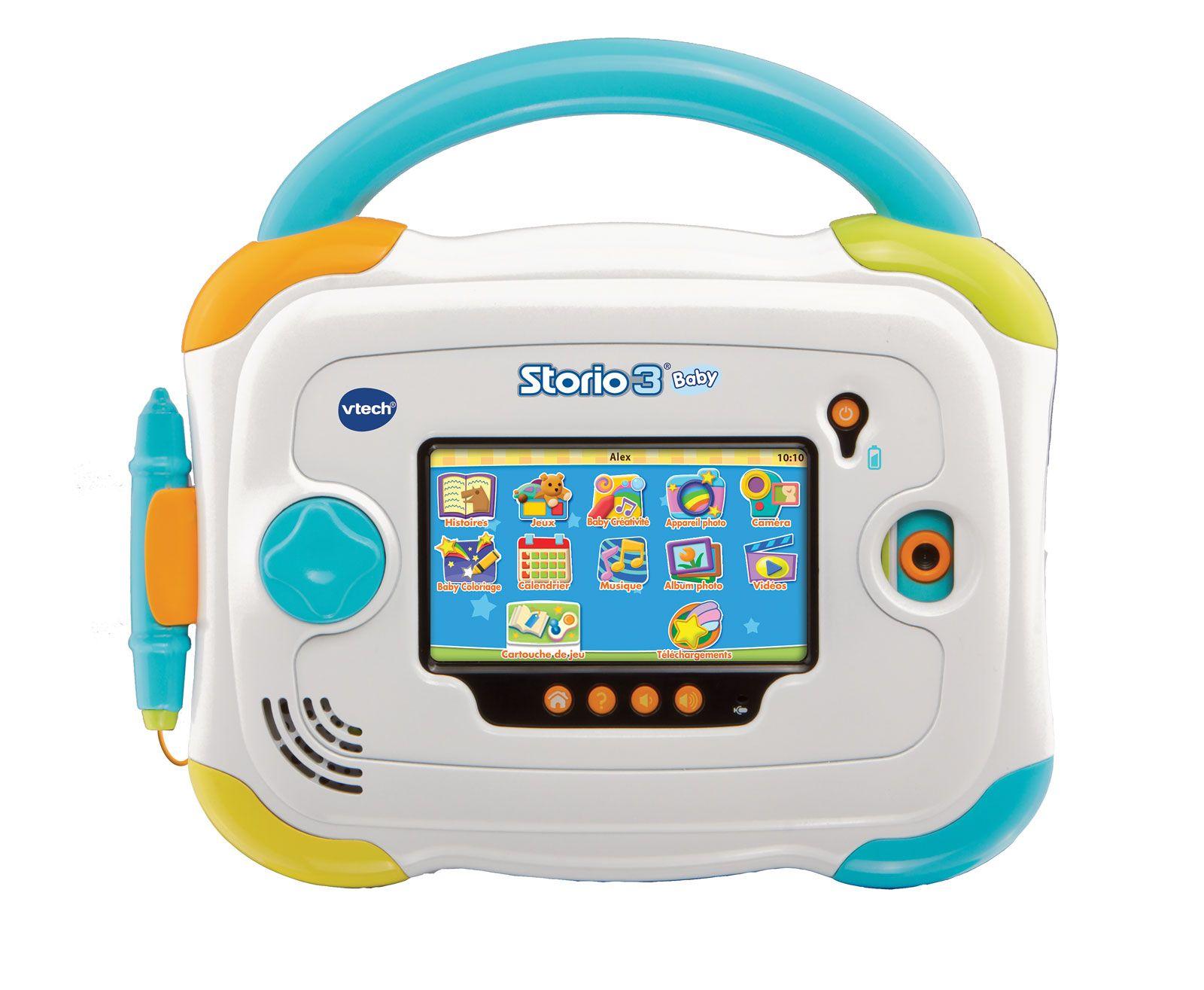 Console Storio 3 Baby Vtech Jeux Eveil Cadeau Bebe