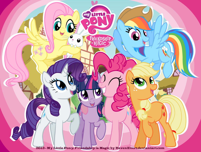 My Little Pony Images Wallpaper My Little Pony By Ravenevert