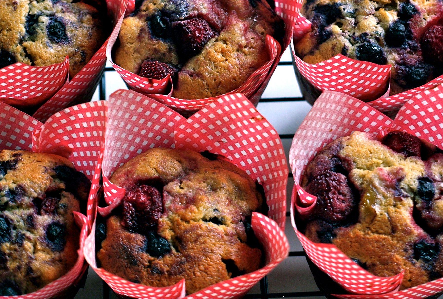 Very Berry Muffins